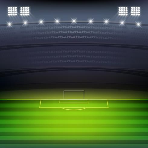 fond de stade de football vecteur