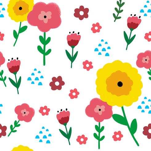 Vecteur transparente motif floral et sombre fond