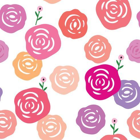 Vecteur transparente motif de fond rose et blanc.