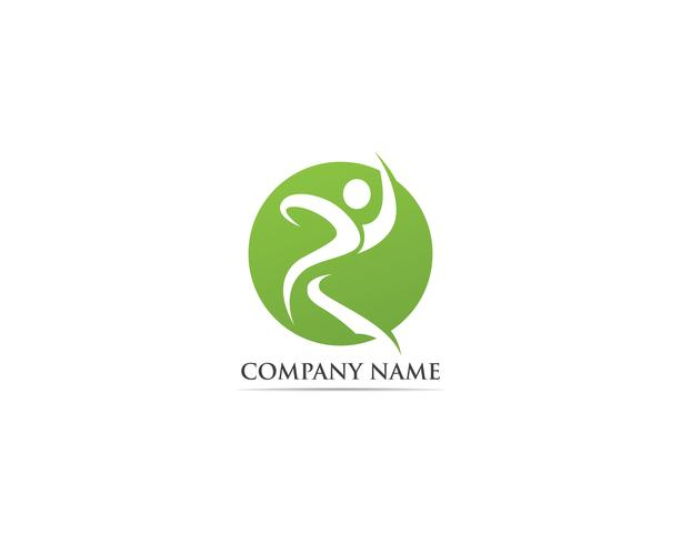 Modèle de vecteur de logo de santé