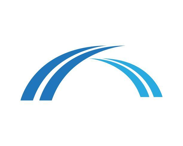 Bridge logo symboles vecteur modèle eps