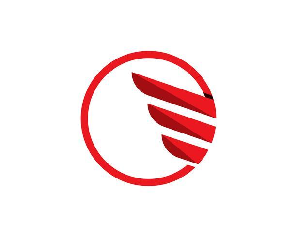 Logo commercial et symboles financiers vecteur