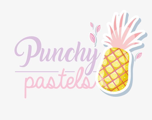 Concept Punchy Pastel vecteur
