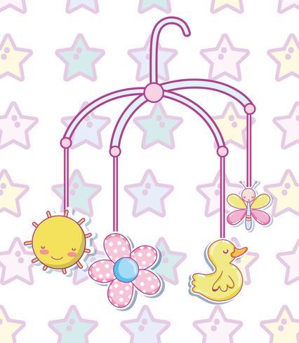 Dessins de jouets pour bébés vecteur