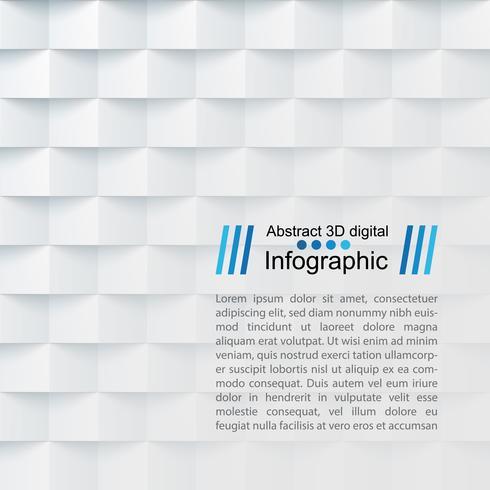 Modèle de papier abstrait - style origami vecteur