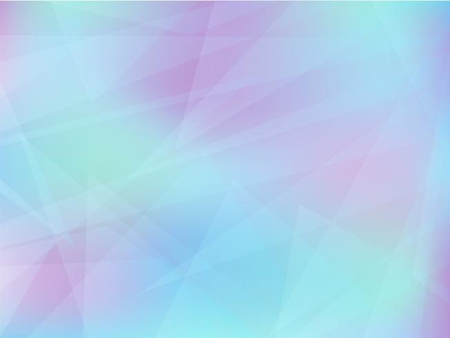 Abstrait géométrique dans des couleurs claires vecteur