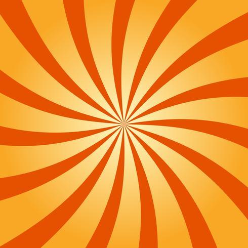 Abstrait rétro tourbillonnant fond radial vecteur
