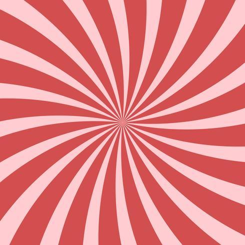 Abstrait rose vif tourbillonnant fond radial vecteur