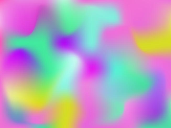 Abstrait holographique lumineux de vecteur