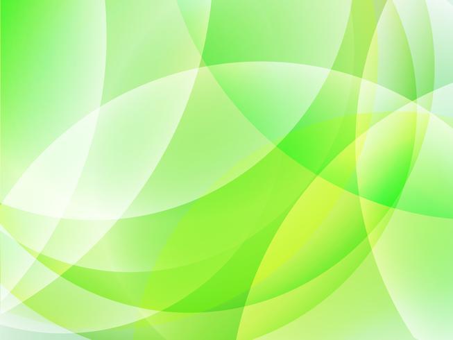 Abstrait vert brillant vecteur