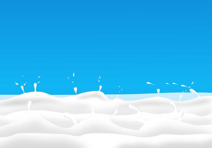 Abstrait Conception illustration vectorielle de lait frais. vecteur