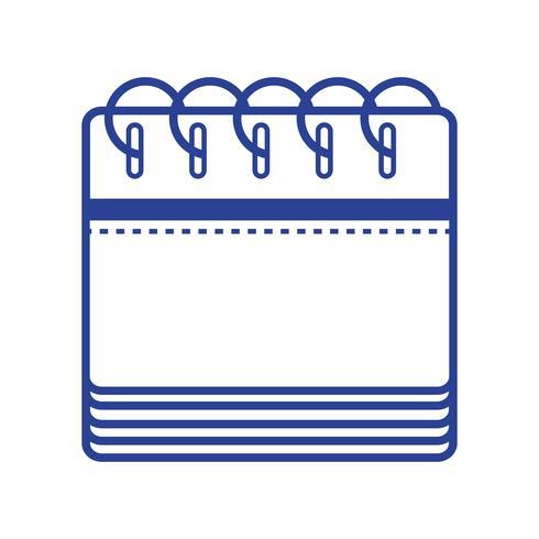 informations de calendrier en ligne au jour de l'événement de l'organisateur vecteur