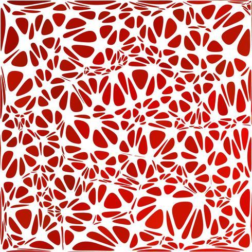 Style moderne rouge, modèles de conception créative vecteur