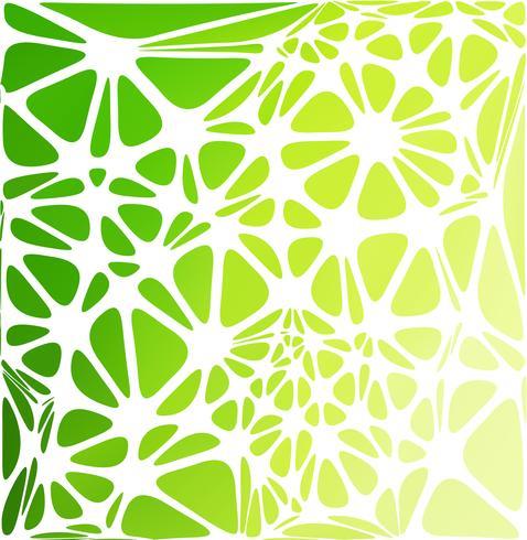 Style moderne vert, modèles de conception créative vecteur