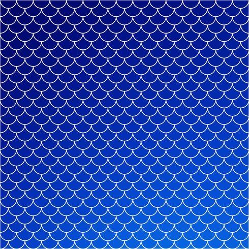 Motif de tuiles de toit bleu, modèles de conception créative vecteur