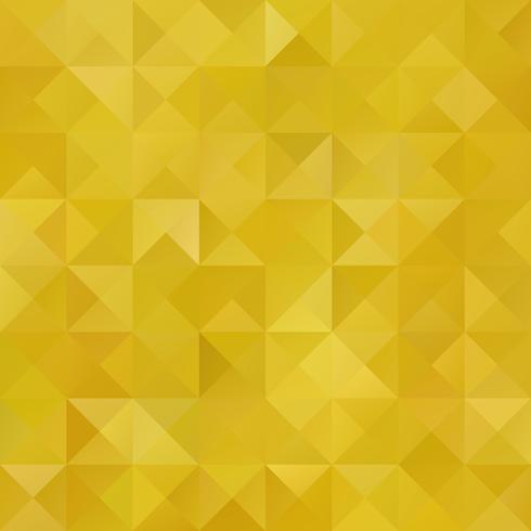 Fond de mosaïque de grille jaune, modèles de conception créative vecteur