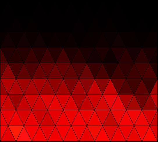 Fond de mosaïque grille carré rouge, modèles de conception créative vecteur