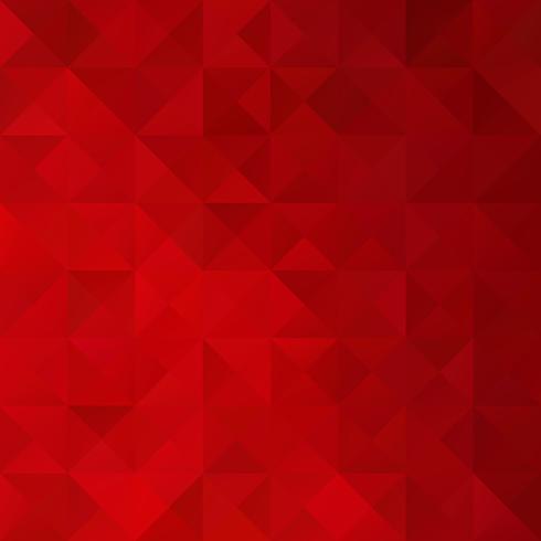 Fond de mosaïque de grille rouge, modèles de conception créative vecteur