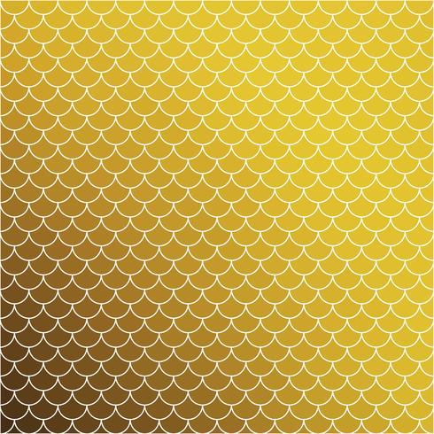 Motif de tuiles de toit jaune, modèles de conception créative vecteur