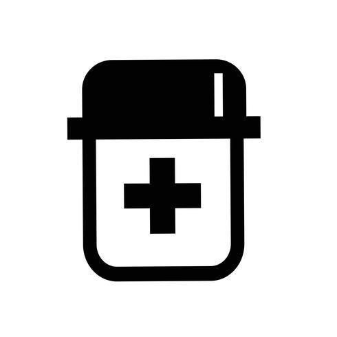 médecine symbole symbole signe vecteur