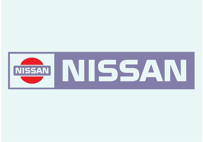 Logo Nissan vecteur