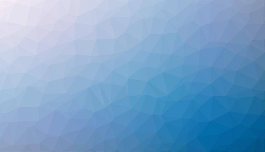 Vecteur de texture de fond triangulé bleu clair