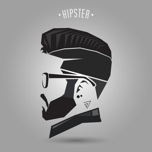 style vintage hipster vecteur