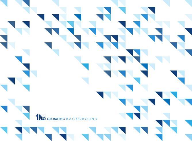 Géométrique bleu simple de fond de la technologie. vecteur