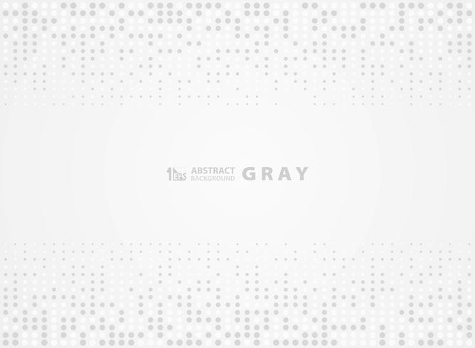Abstrait gris modèle fond de conception de demi-teinte de points aléatoires. illustration vectorielle eps10 vecteur
