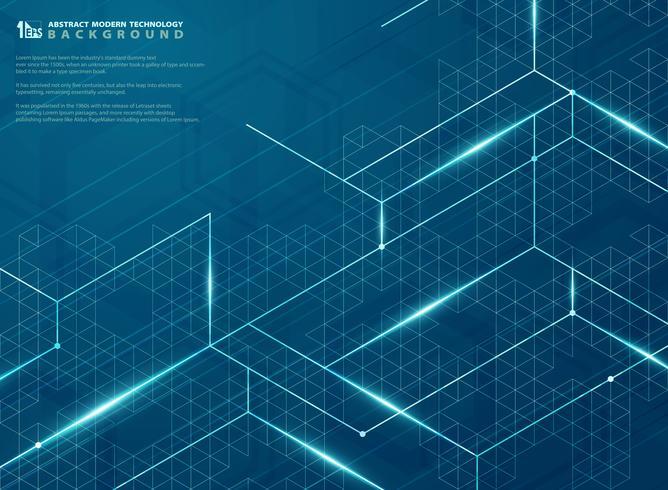 Moderne futuriste de structure bleue ligne énergie modèle design fond. illustration vectorielle eps10 vecteur