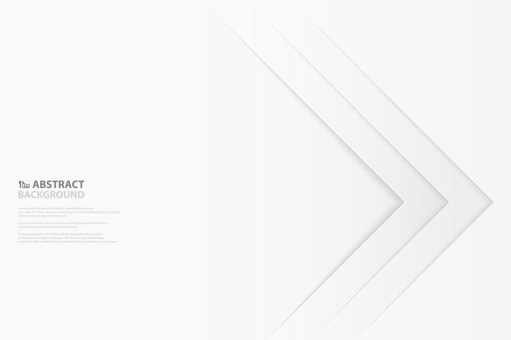 Livre blanc abstrait coupé modèle de conception modèle de conception. illustration vectorielle eps10 vecteur