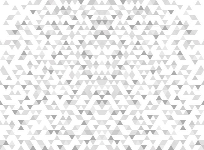 Fond gris dégradé abstrait triangle moderne. vecteur