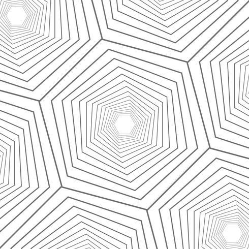 Abstrait bouchent moderne design motif géométrique à six pans creux. vecteur