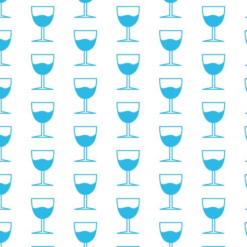 Fond de verre à boire vecteur