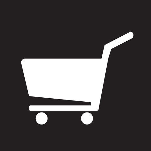 icône de panier vecteur