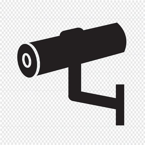 Cctv Icon, cctv, icône de sécurité, caméra de vidéosurveillance vecteur