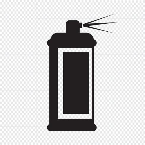 Spray symbole icône vecteur