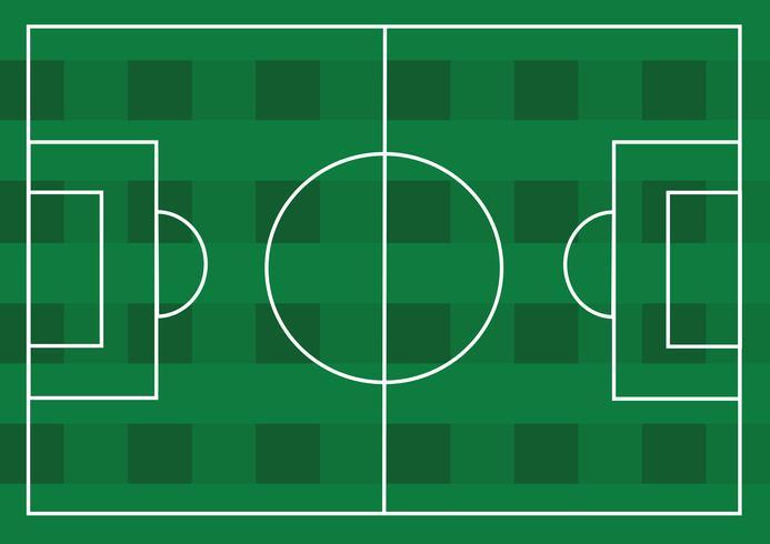 Terrain de soccer ou terrain de gazon texturé vecteur