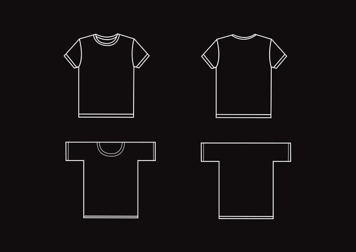 modèles de conception de t-shirt vecteur