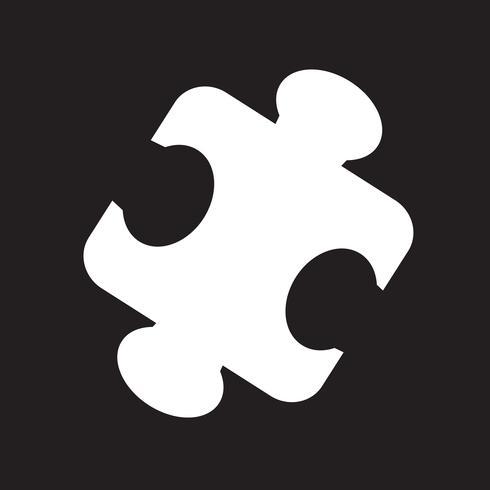 casse-tête symbole icône vecteur