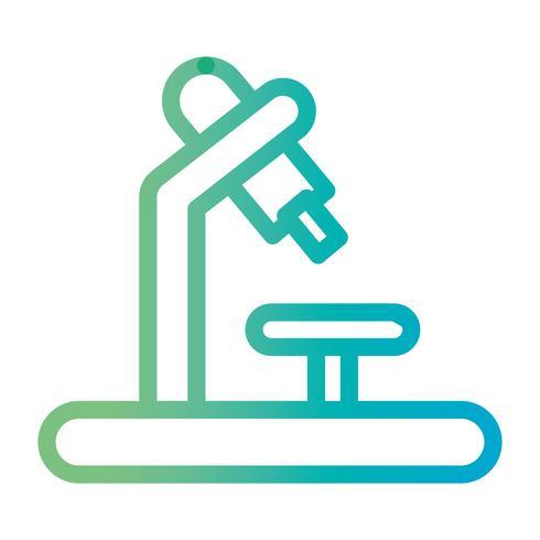 ligne science microscope équipement tp biologie discobery vecteur