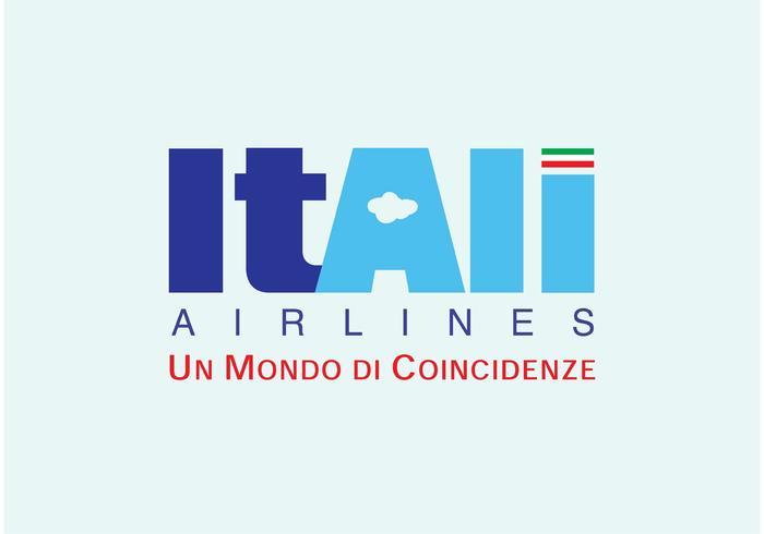 itali airlines vecteur