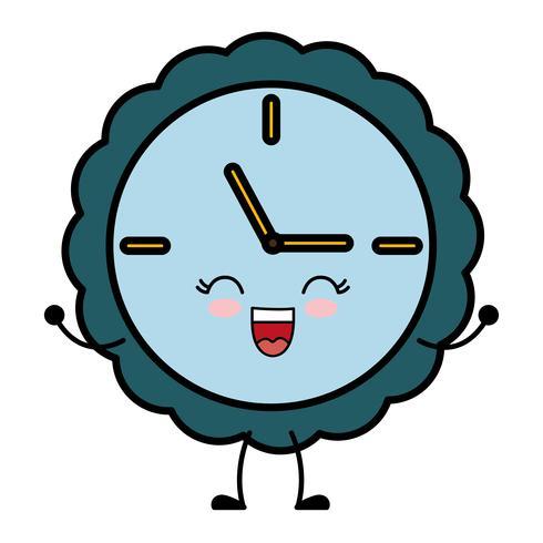 image d'icône d'horloge vecteur