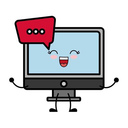 image d'icône d'ordinateur vecteur