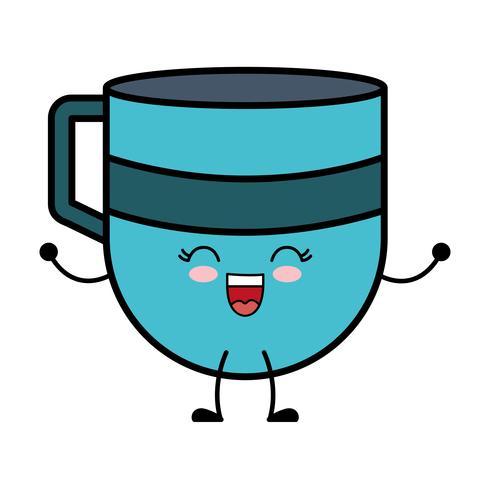 icône de la tasse à café vecteur