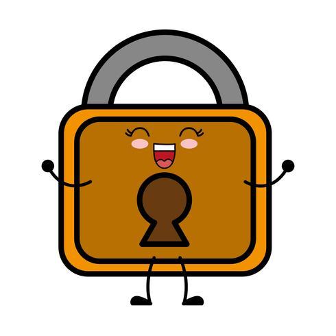 icône de cadenas de sécurité vecteur