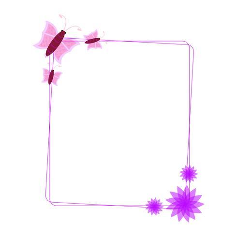 Illustration vectorielle de Nice Photo Frame vecteur