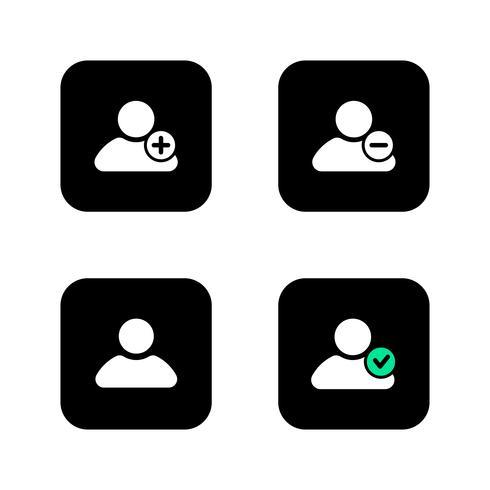Icône de connexion de l'utilisateur. vecteur
