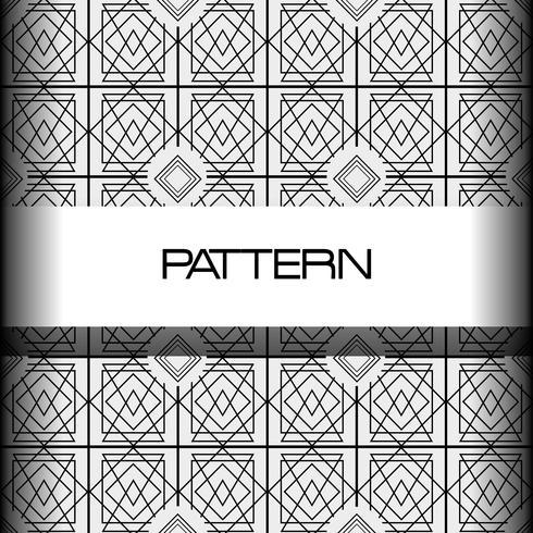 conception géométrique abstrait sans soudure vecteur