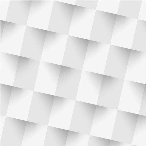 fond géométrique blanc vecteur
